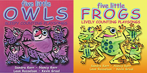 Five Little Owls & Five Little Frog