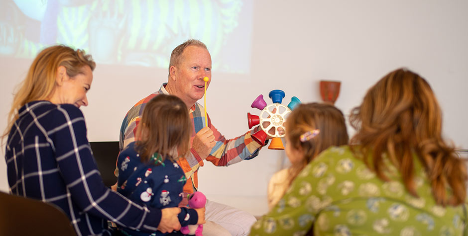 Kevin Graal storytelling for early years