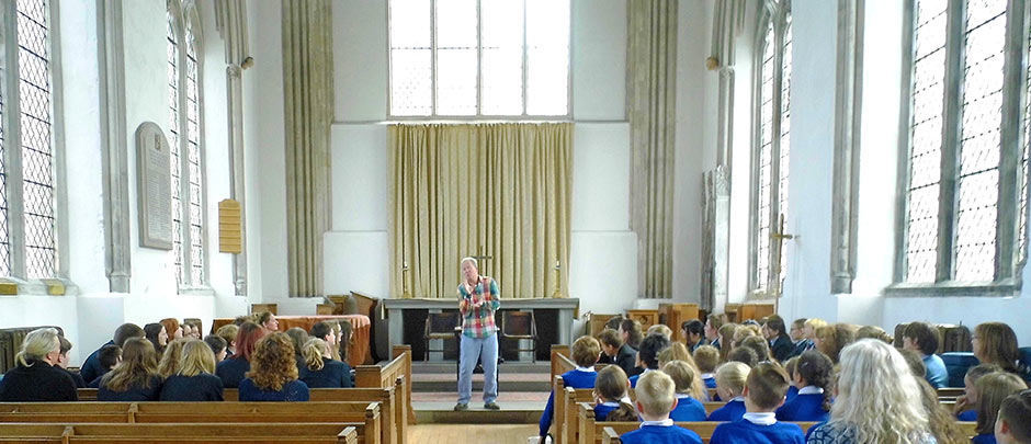 Kevin Graal projects & events: storytelling at Norwich School