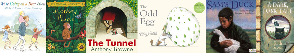 example book covers by contemporary children's authors